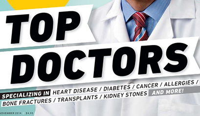 2014 Top Docs cover