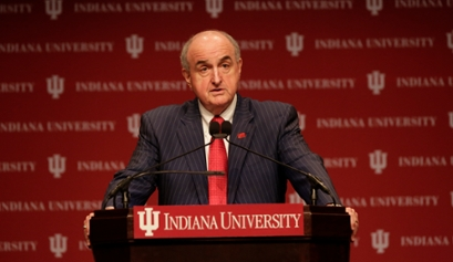 IU President Michael A. McRobbie recently delivered his 2015 State of the University Address