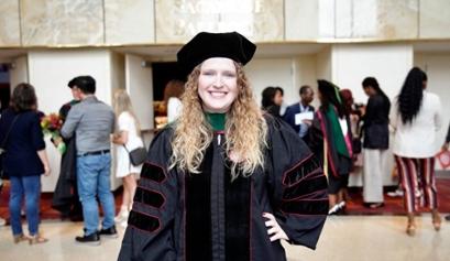 Hayley Grzych graduation