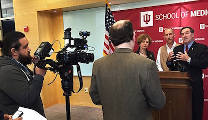 IUSM faculty, leaders offer insight to legislators about opioid epidemic